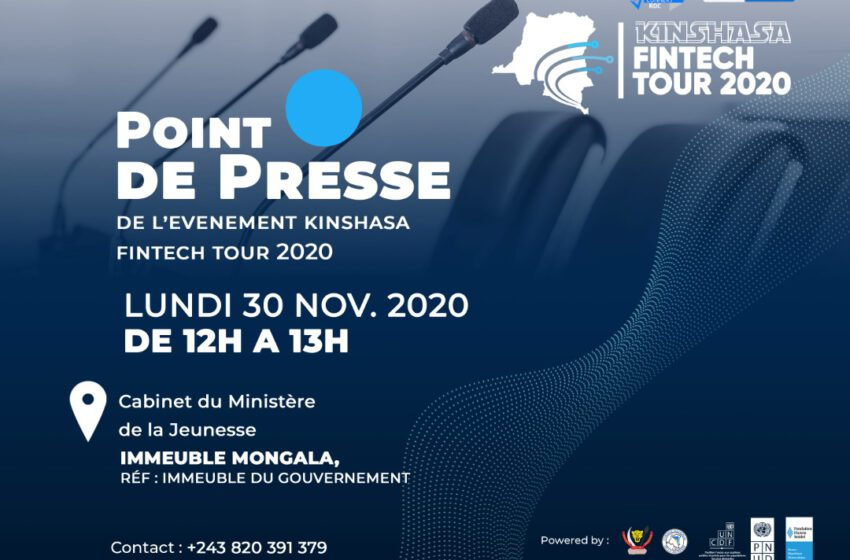 Point de presse Forum #KinFintechTour2020